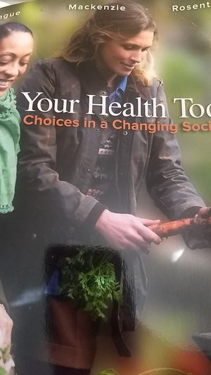 Your Health Today: Choices in a changing society 6th Ed. Textbook for Sale in Wichita, KS