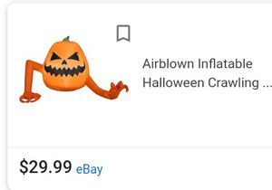 Halloween air blown inflatables and solar LEDS for Sale in Fresno, CA