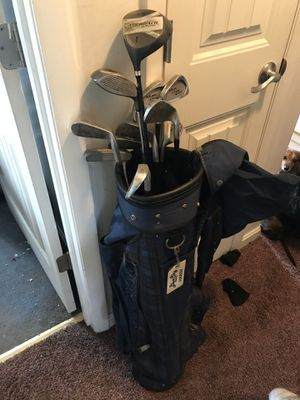 Lefty golf clubs with bag for Sale in Falls Church, VA