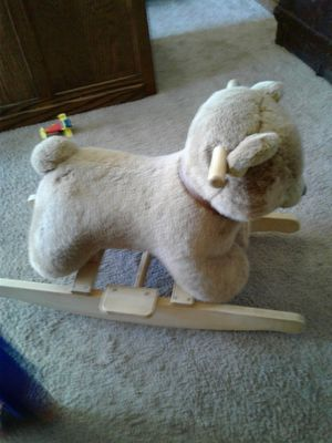 $3!!🐻🍼🐾Bear Toddler Rocker🐾🍼🐻 for Sale in Tacoma, WA