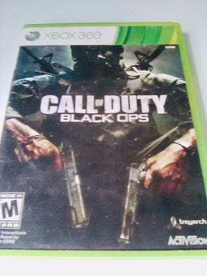 Call of duty black ops (Xbox 360) for Sale in Raleigh, NC