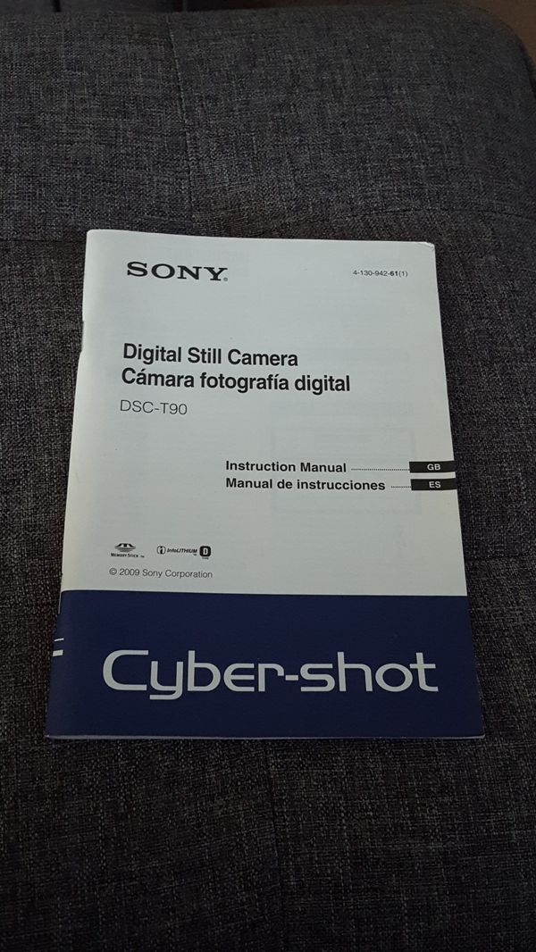 Sony Digital Still Camera DSC-T90