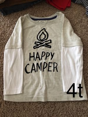 Happy camper long sleeve 4t for Sale in Vancouver, WA