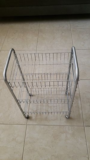 Three shelves utility cart for Sale in Spring Hill, FL