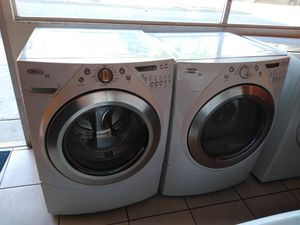 WHIRLPOOL DUET WASHER AND GAS DRYER SET for Sale in Garden Grove, CA