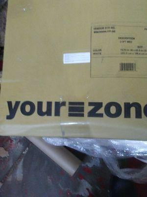 Your zone loft bunk bed for Sale in Detroit, MI