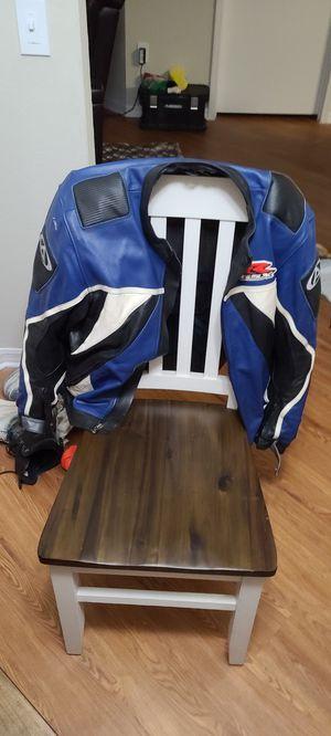 Suzuki GSXR leather Jacket for Sale in Lakeland, FL