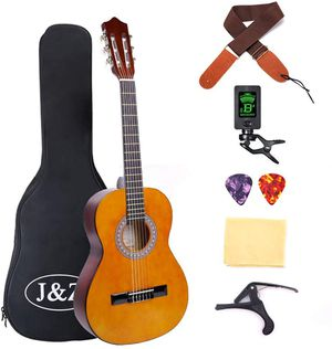 Classical Guitar 3/4 Size 36 inch Kids Guitar Acoustic Guitar for Beginners for Sale in Ontario, CA