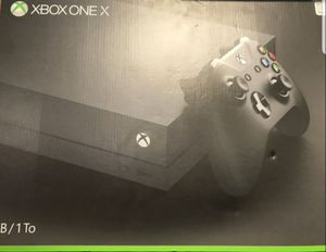 Xbox one x for Sale in Chandler, AZ