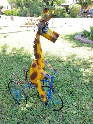 Giraffe Metal Plant Stand (Yard Art) for Sale in Wylie, TX