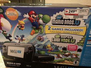 Nintendo Wii U 32 gb console black please read! for Sale in Las Vegas, NV