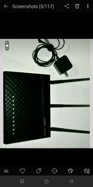 ASUS Router AC1900 for Sale in Austin, TX