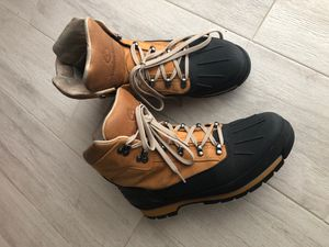 Timberland boots, brown, black. Size 12 for Men, waterproof. for Sale in Miami, FL