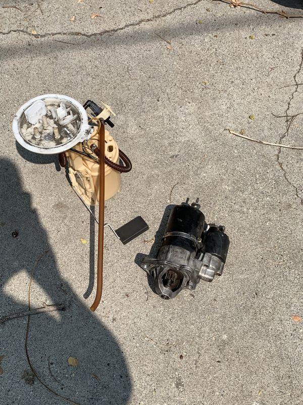 Audi a4 gas pump n starter