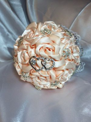 Wedding or quinceanera bouquet, handmade for Sale in Miami, FL
