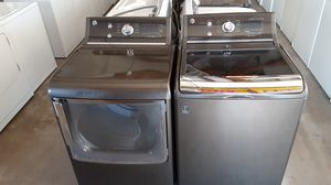 Graphite GE washer and dryer for Sale in Union Park, FL