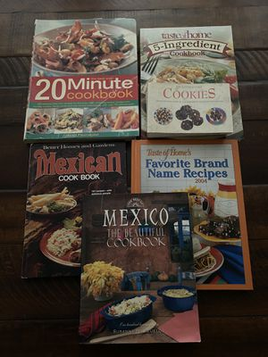 Cookbooks all for free for Sale in Baldwin Park, CA