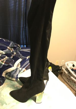 Thigh high boots for Sale in Northbridge, MA
