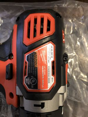 Milwaukee hammer drill NEW for Sale in Washington, DC