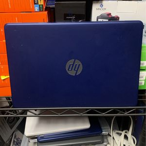 "HP 14"" Stream Laptop Windows, 10S Touch 8+ hour battery life - (14-DS0036NR) - Royal Blue for Sale in Anaheim, CA"