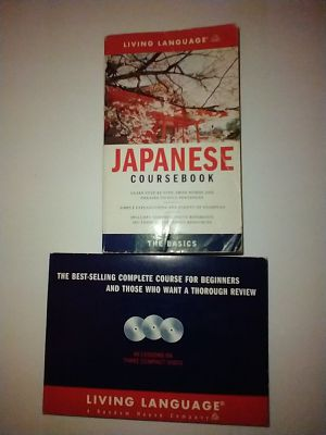 Japanese Language Course book with 3 Accompanying CDs for Sale in Pomona, CA