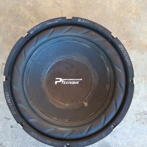 """12"""" Performance Teknique for Sale in Ontario, CA"""