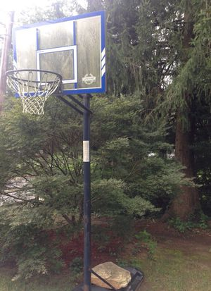 Lifetime adjustable basketball hoop for Sale in Falls Church, VA