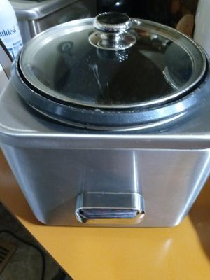 Cuisinart rice cooker.works great for Sale in Oroville, CA