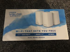 Linksys Velop AC3900 Mesh Router for Sale in Schaumburg, IL