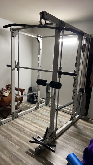hoist smith machine with 200lb weight stack for Sale in Stockton, CA
