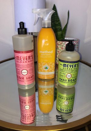 Antibacterial all purpose cleaner , MRs. Meyers dish soap & hand soap for Sale in Hickory Hills, IL