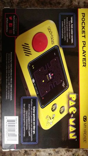 Pac man pocket player for Sale in Miami, FL