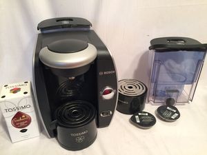 Bosch Tassimo espresso coffee maker machine for Sale in Middletown, PA