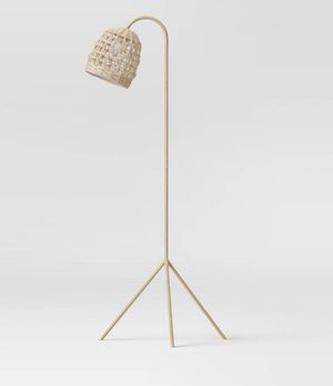 Seagrass Karina Tripod Floor Lamp Natural (Includes LED Light Bulb) - Opalhouse™ for Sale in Walnut, CA