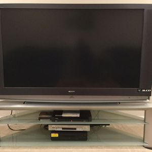"Sony 60"" inch High-Definition projection 3LCD TV WITH STAND CONSOLE for Sale in Boyds, MD"