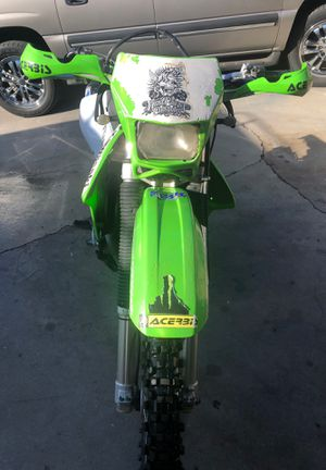 2003 KLX- (Kawasaki) 400 Duel sport, license plates. for Sale in Riverside, CA