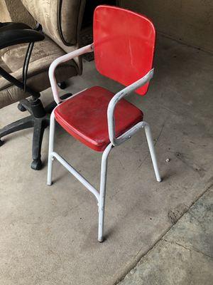 Kids metal antique chair for Sale in Phoenix, AZ
