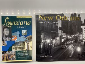 Two New Orleans/Louisiana Books for Sale in New Orleans, LA