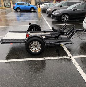 Folding motorcycle trailer for Sale in Gainesville, VA