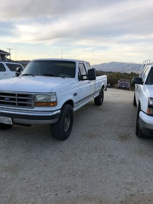 1995 F250 powerstroke 5 speed manual rwd 8000 obo for Sale in Costa Mesa, CA