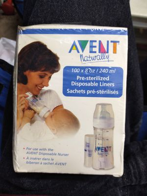 Avent naturally disposable liners for Sale in Los Angeles, CA