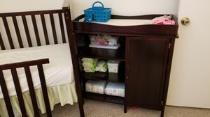 Crib and changing table for Sale in Daytona Beach, FL