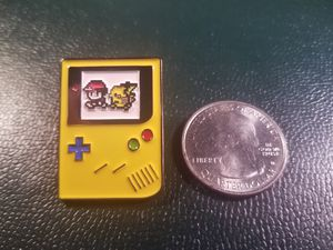 *SHIP ONLY* Gameboy Color Ash Ketchum and Pikachu 8 Bit Hard Enamel Collectible Pokemon Pin Badge for Sale in Phoenix, AZ