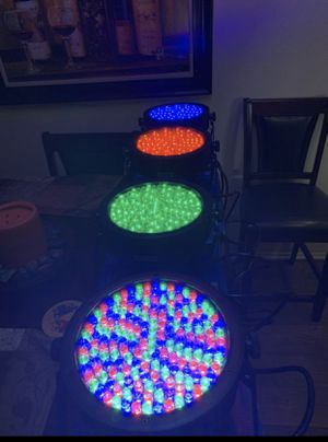 Chauvet SlimPar64 RBG lights for Sale in Placentia, CA