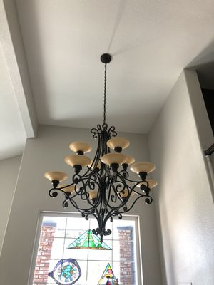 Large Iron Chandelier for Sale in Encinitas, CA