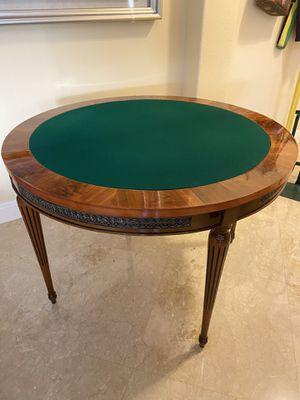 Canziani Italian Antique Furniture/Poker table for Sale in Miami, FL