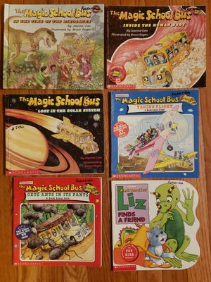 The Magic School Bus science series and level 2 readers lot of 10 books for Sale in St. Charles, IL
