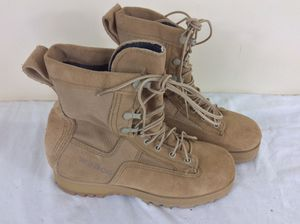 Wellco US ARMY Desert Combat Boots Military Hot Weather Size 5 R for Sale in Severn, MD