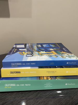 California Real Estate Books! Finance, Principles and Practice for Sale in Los Angeles, CA