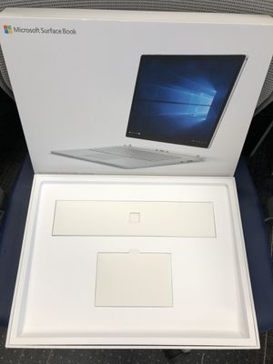 "EMPTY Microsoft Surface Book 2 15"" box for Sale in Anaheim, CA"